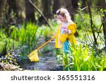 Child Playing Outdoors....
