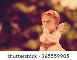 Cute Angelic Cupid Statue...
