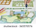 landscape architect design... | Shutterstock . vector #365570576