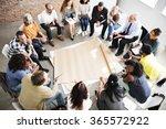 team teamwork meeting start up... | Shutterstock . vector #365572922