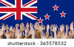 new zealand national flag group ...   Shutterstock . vector #365578532