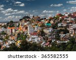 City Of Antananarivo At Sunny...