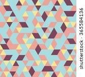 seamless pattern of geometric... | Shutterstock .eps vector #365584136