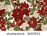cotton fabric with a bright...   Shutterstock . vector #3655921