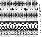 tribal indian geometric pattern....   Shutterstock .eps vector #365599025
