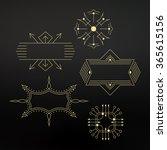 flourishes calligraphic frame.