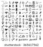 business doodles | Shutterstock .eps vector #365617562