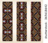 multicolored set of vertical... | Shutterstock .eps vector #365618642