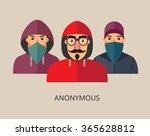 an anonymous hacker team   Shutterstock .eps vector #365628812