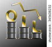 oil crash art logo | Shutterstock .eps vector #365638232