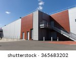 details of aluminum facade and... | Shutterstock . vector #365683202
