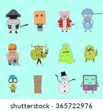 little monsters pack vector 3 ...