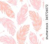 vector seamless aztec pattern ... | Shutterstock .eps vector #365726072