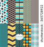 repeating patterns for digital... | Shutterstock .eps vector #365728922