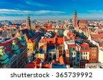 Aerial View Of Stare Miasto...