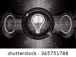 dark black light abstract... | Shutterstock .eps vector #365751788