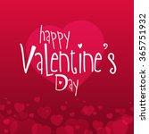 valentines day illustration... | Shutterstock .eps vector #365751932