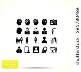 business man icons | Shutterstock .eps vector #365780486