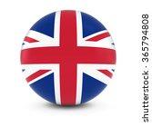 uk flag ball   flag of the... | Shutterstock . vector #365794808