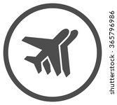 airlines vector icon. style is... | Shutterstock .eps vector #365796986