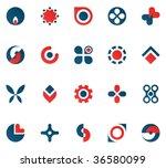 design elements set. | Shutterstock .eps vector #36580099