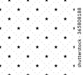 Seamless Pattern With Stars Fo...