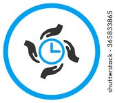 time care vector icon. style is ...   Shutterstock .eps vector #365833865