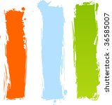 Multicolored Vertical Grunge...