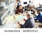 business people meeting... | Shutterstock . vector #365852312