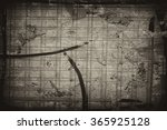old abstract highly detailed... | Shutterstock . vector #365925128