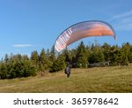 Paraglider Is Starting....