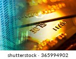 gold credit card and finance... | Shutterstock . vector #365994902
