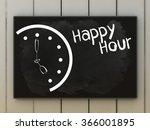 last minute on blackboard... | Shutterstock . vector #366001895