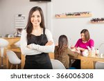 gorgeous female latin business... | Shutterstock . vector #366006308