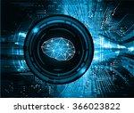 dark blue light abstract... | Shutterstock .eps vector #366023822