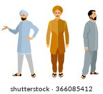 vector illustration of a three... | Shutterstock .eps vector #366085412