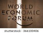 davos  switzerland   jan 21 ... | Shutterstock . vector #366100406