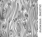 vector seamless wooden pattern. | Shutterstock .eps vector #36610765
