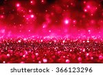 Romantic Background With Red...