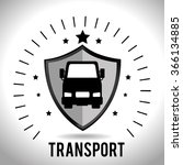 vehicle transport icon   Shutterstock .eps vector #366134885