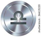 libra zodiac sign horoscope... | Shutterstock .eps vector #36615220