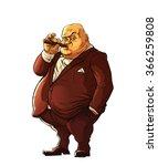 mafia boss  boss of a mafia... | Shutterstock .eps vector #366259808