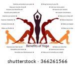 yoga infographics  mental and...