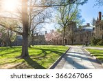 walkway through princeton... | Shutterstock . vector #366267065