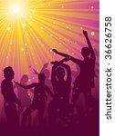 party people | Shutterstock .eps vector #36626758