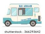 ice cream van   Shutterstock .eps vector #366293642