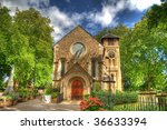 Hdr Photo Of An Old Church In...