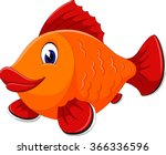 cute fish cartoon | Shutterstock .eps vector #366336596