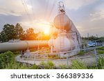 oil and gas industry refinery... | Shutterstock . vector #366389336