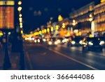 Night City Life  Car And Stree...